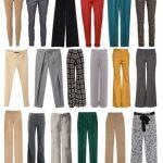 Фасоны брюк женских фото с названиями и описание