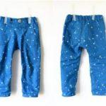 Выкройка детских брюк на резинке для мальчика