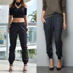 Как называются мужские и женские брюки с резинкой внизу, их особенности и описание