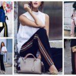 С чем носить брюки с лампасами женский тренд, с какой обувь носить и как сочетать