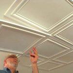 Как клеить потолочную плитку способы, технологии, инструкция