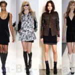 Как носить длинные носки варианты сочетаний для женщин и мужчин