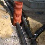 Как укрепить стенки дренажной канавы