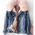 С чем носить джинсовую куртку с мехом подбираем одежду и обувь