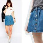 Выкройка джинсовой юбки шитье, на девочку, своими руками