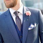 Для чего нужен нагрудный платок в мужском костюме