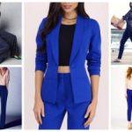 Синие брюки — с чем носить женщинам осенью, зимой, весной и летом Особенности выбора модели