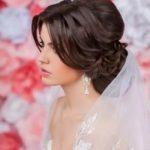 Фата на распущенные волосы свадебные прически на распущенные волосы с фатой