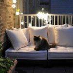 Свет на балконе, идеи по освещению лоджии