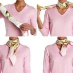 Как красиво завязать косынку на шее разными способами Повязываем косынку под рубашку, пальто,