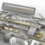 Фурнитура для алюминиевых окон красивая ручка и петля