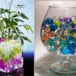 Гидрогель для растений основные характеристики, инструкция по применению гелевых шариков