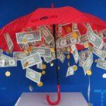 Как сделать зонт с деньгами на свадьбу приятный сюрприз своими руками