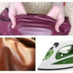 Как разгладить куртку из кожзама погладить куртку из кожзаменителя
