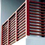 Ограждение балконов из дерева, как сделать перила