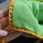 Как пришить флис к вязаной шапке как сделать подкладку своими руками