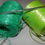 Что можно связать из полипропиленовых ниток крючком Особенности вязания