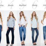 Фасоны джинсов женских, какие бывают по посадке и крою