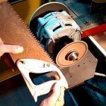 Как правильно наточить ножовку по дереву в домашних условиях напильником