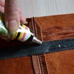 Клей для кожи разновидности и особенности ремонта