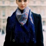 Как носить павлопосадский платок как красиво завязать, правила ношения и стильные образы
