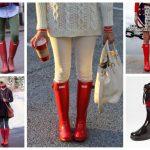 С чем носить резиновые сапоги женские модные тенденции, советы и правила ношения