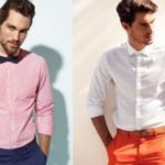 Как носить рубашку без пиджака, заправленную, на выпуск, правила ношения с брюками