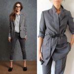 С чем сочетать удлинённый пиджак, как подобрать стильный образ