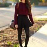Как носить свитер с юбкой Сочетаем длинный, короткий, объемный и другие свитера с юбками