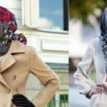 Как красиво завязать палантин на голове осенью Классический вариант, со жгутом, с косой, с цветком