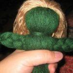 Как сделать куклу из ниток Пошаговая инструкция изготовления куклы-оберега с лицом
