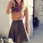 Как заправить свитер в юбку модные правила и тенденции
