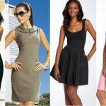 Модели классических платьев какие они, описание и фото
