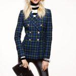 С чем носить клетчатый пиджак женский, мужской, модные тенденции
