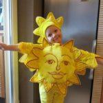 Костюм солнышка для девочки и взрослого своими руками пошаговое изготовление костюма