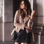 С чем носить женскую кожаную куртку (фото) гармоничные сочетания цветов