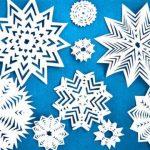 Как сделать и приклеить снежинки на окно основные способы, фото