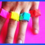 Как сделать кольцо из бумаги 3 способа выполнения украшения