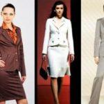 Модели костюмов женских для пошива с юбкой, брюками, деловые, летние варианты