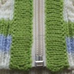 Как вшить молнию в вязаную кофту (Пошагово)
