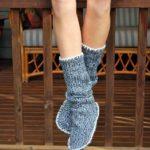 Носки из старого свитера своими руками как сшить тёплые и трикотажные носки из старого свитера