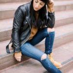 С чем носить тимберленды девушкам Какому стилю они подходят Как комбинировать с одеждой зимой и