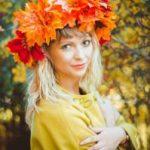 Костюм Осени для взрослого своими руками основа и декорирование костюма, шапка, венок, маска