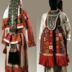 Материал из которого остяки изготавливали национальный костюм
