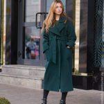 Как сшить пальто-халат выкройка пальто-халата с запахом, с капюшоном, пошаговый пошив пальто