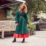 Как носить полупальто с длинной юбкой правила сочетания, выбор обуви