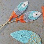 Как сделать перо из ниток своими руками Материалы и инструменты
