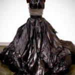 Платье из мусорных пакетов своими руками разные платья из мусорных мешков своими руками