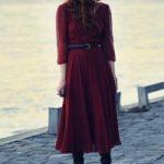 С чем носить платье миди какую одежду, обувь и аксессуары подобрать для платья-миди