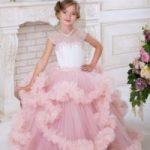 Как сшить платье-облако для девочки своими руками из фатина, поэтапно